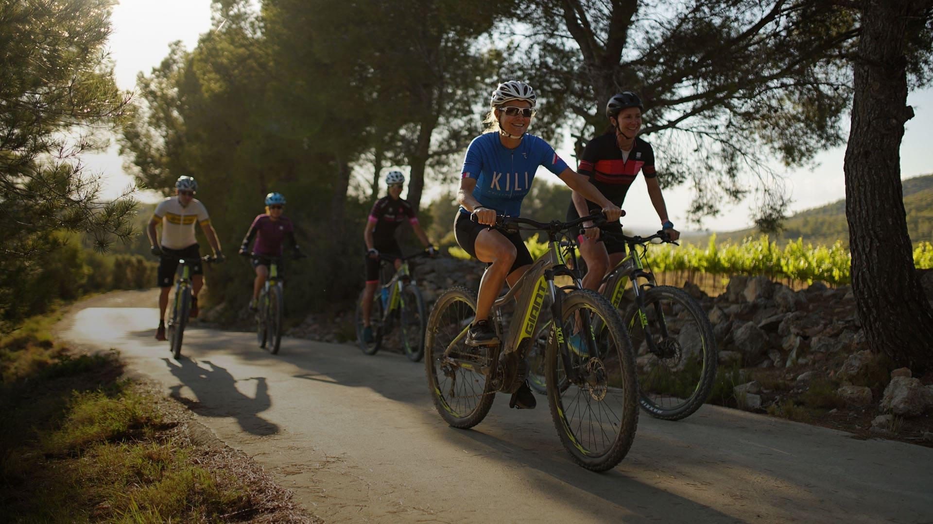 E-bike tour Sitges