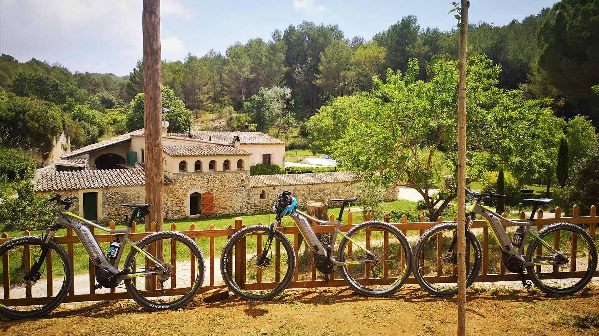 Electric bike tour Garraf